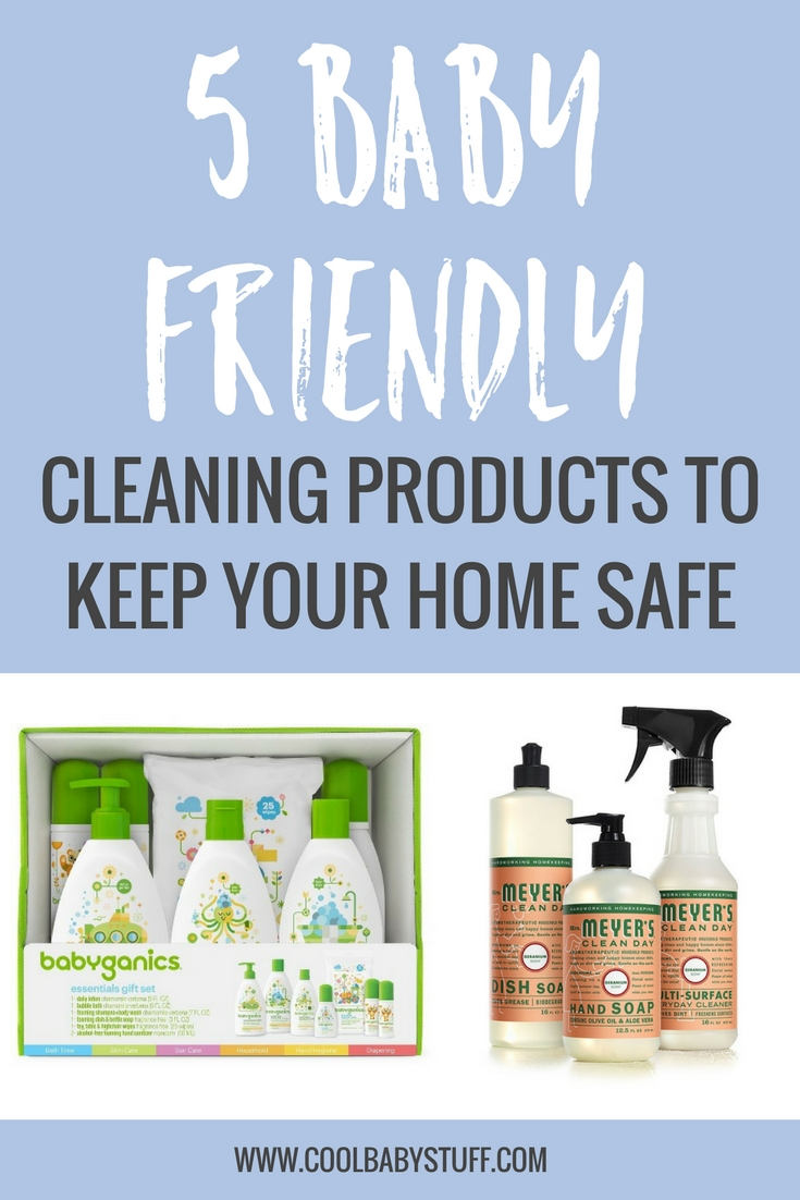 The toxicity of some common household cleaning products are usually pretty well known and indicated on their labels, yet many parents still keep them in use after having a child when they should be using baby-friendly cleaning product lines. Consider the following baby-friendly cleaning product lines as alternatives.