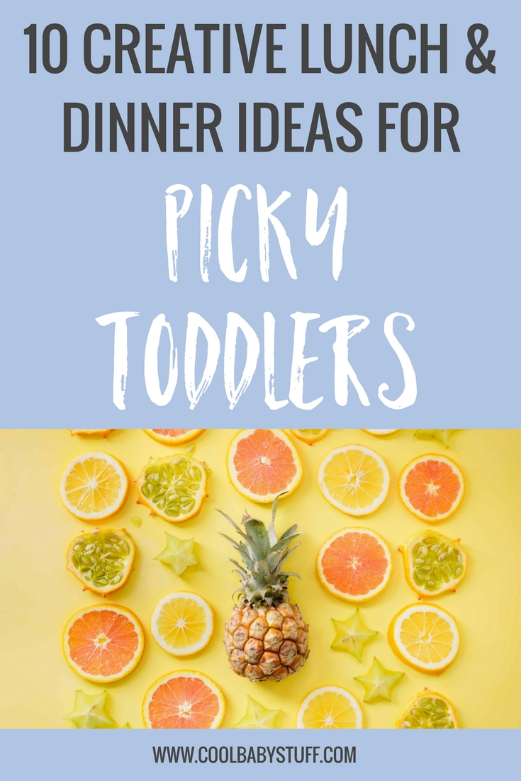 Toddlers can be some of the pickiest eaters and food critics. It can be frustrating when they spit out what you feed them or leave you with a full tray of untouched food. Here are a few tips to help peak your child's interest and some examples of meals you can prepare that picky toddlers will love.