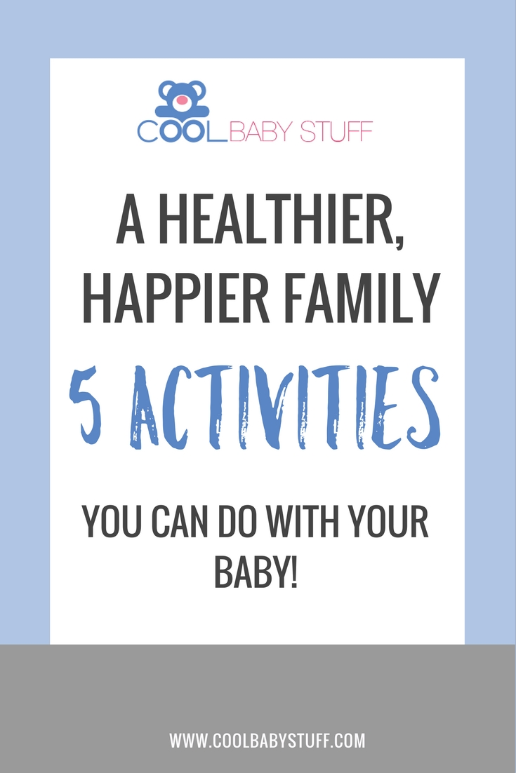You will feel more human and connected to baby with each adventure you share and these simple activities to do with your baby are a great starting point.