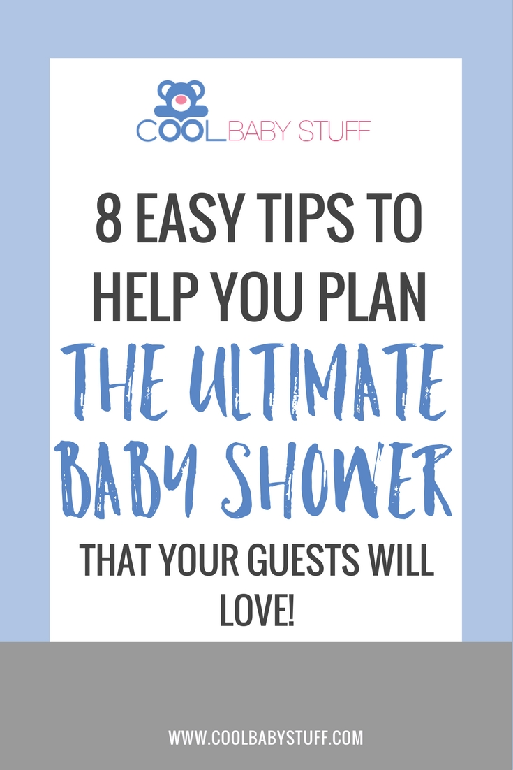 Take advantage of the happiest season to help celebrate the happiest event with these 8 tips for hosting the ultimate summer baby shower.