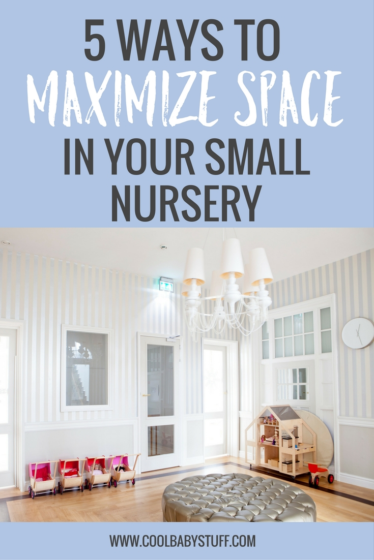 If you have a small nursery, it can be overwhelming as you anticipate the influx of baby gadgets and swings and toys and blankets. Here are a few tips that will help you make the most of the space that you have without compromising on style.