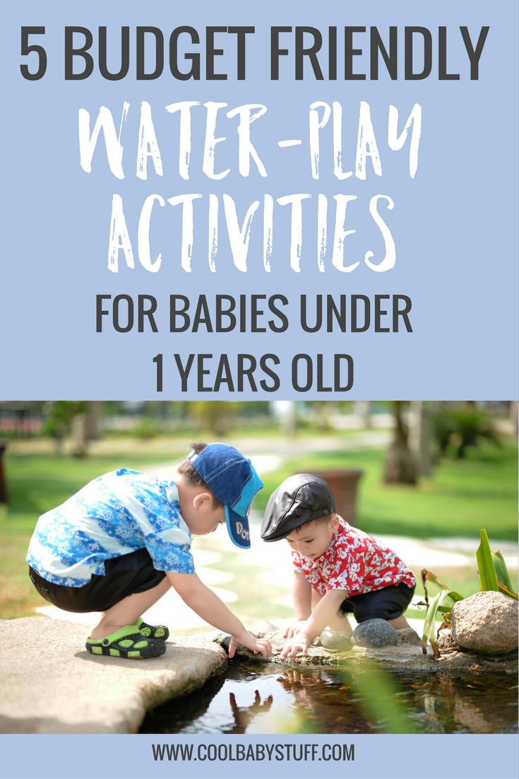 Here are 5 water activities for babies that are safe, easy, and inexpensive -- and right in the comfort of your own home. They're fun for mom and dad too!