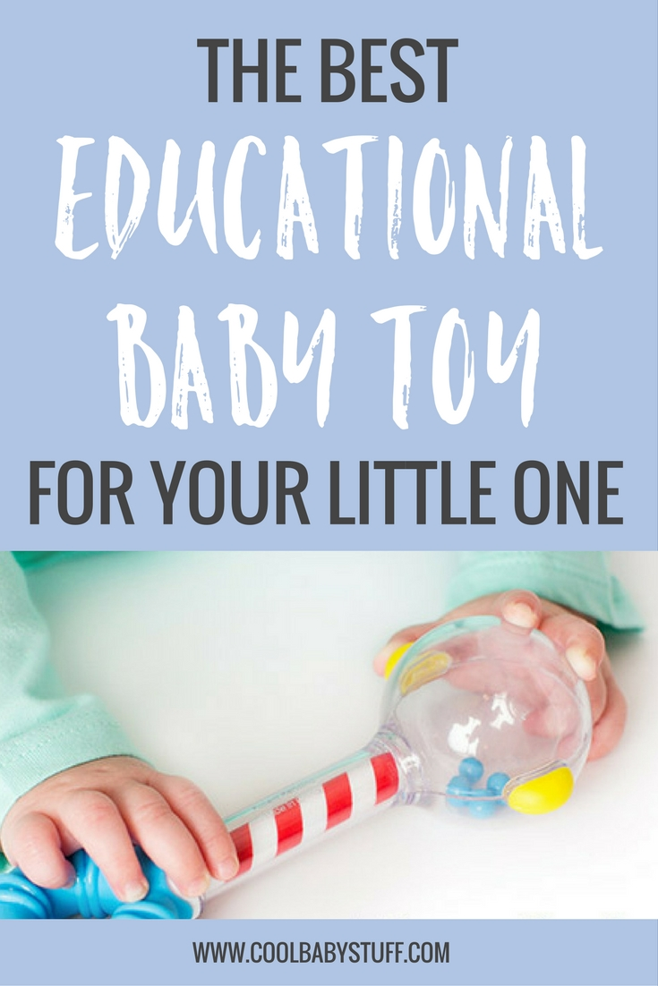 While we want to give our child everything, we need to realize they don't need every toy, they need the best toy -- a Smartnoggin' educational baby toy.