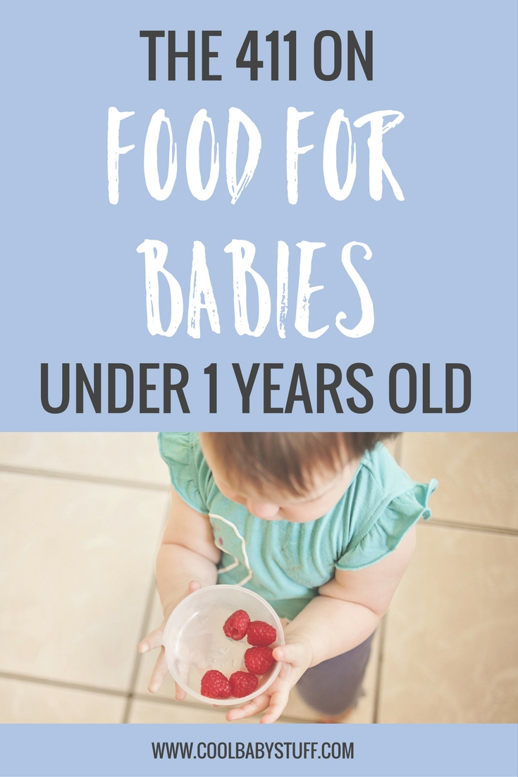 While there's no timeline for when you should introduce specific foods, there are a few types of food for babies under one that they shouldn't eat.