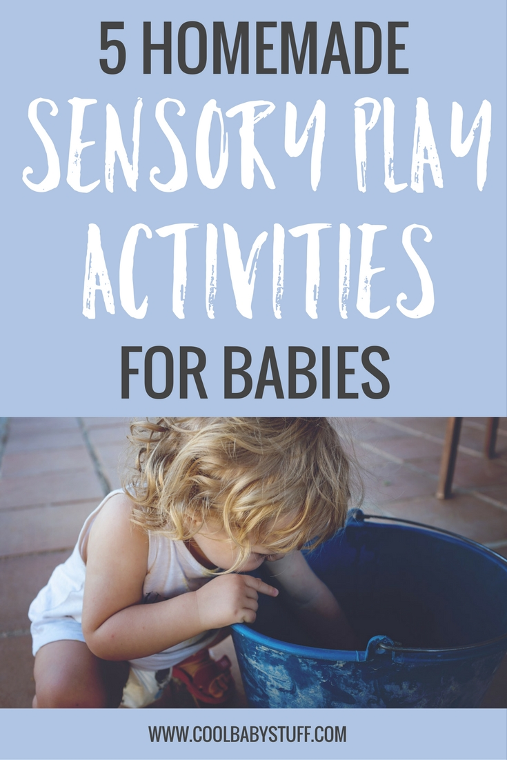 Here are a few educational sensory play activities for babies to encourage your baby to explore and learn using items that you already have in your home.