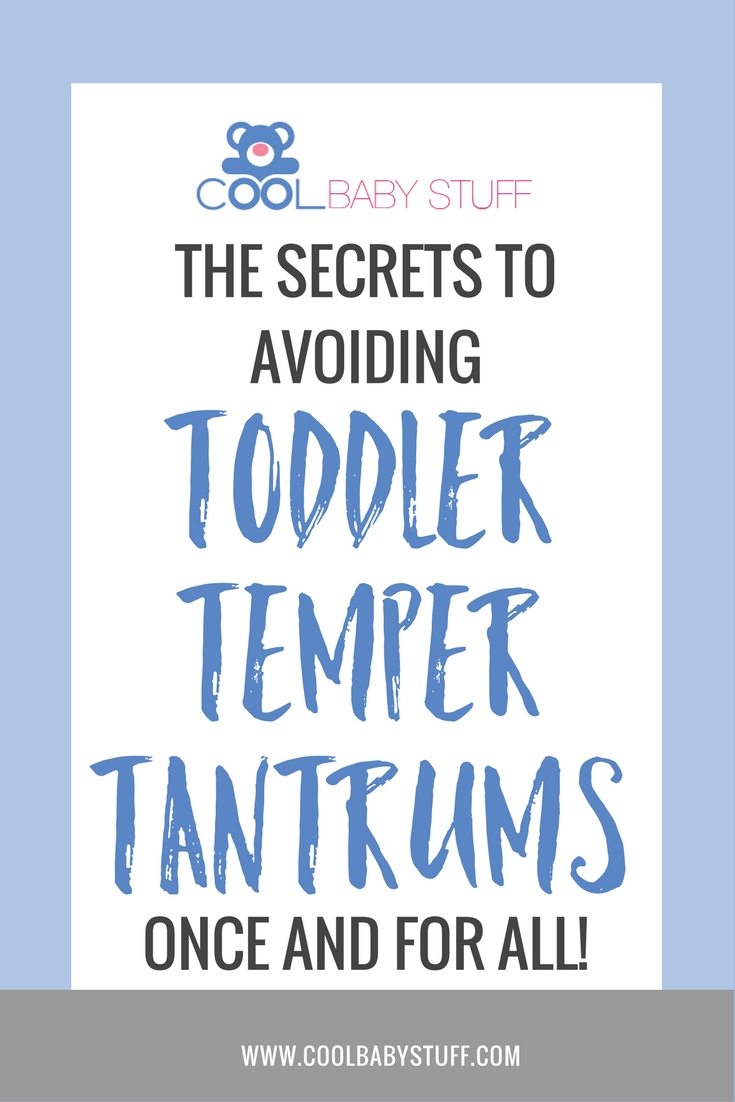 Temper tantrums are no fun and sometimes you don't know why toddlers throw temper tantrums! Here are a few tricks to prevent those toddler temper tantrums.