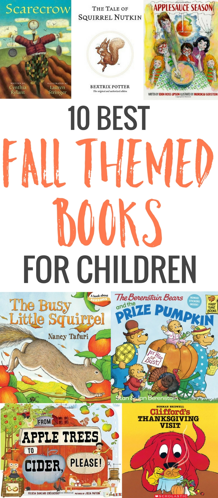 I'm not sure I've ever met a picture book I didn't like! I have books for any reason and any season in my personal library -- even fall books for children.