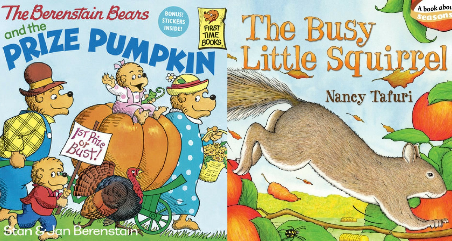 Fall Books For Children: My Top 10 Personal Picks