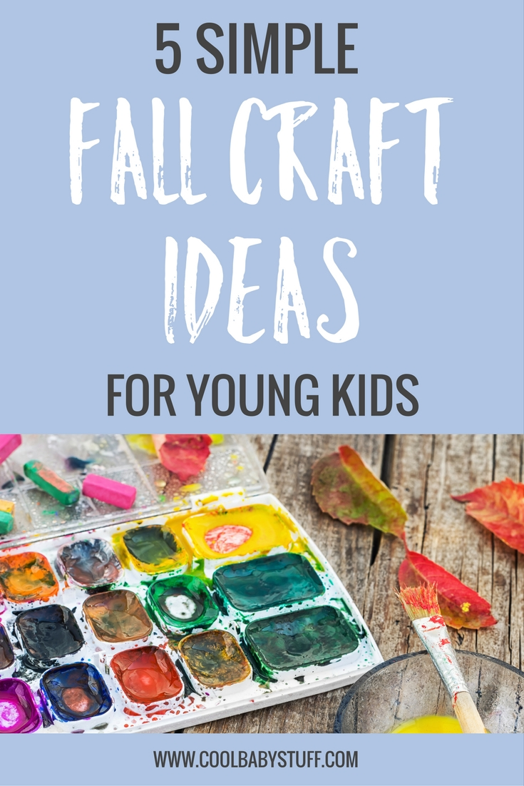 Fall crafts for babies and toddlers. Even babies can participate in the fall fun so check out this list of fall craft ideas to help get those creative juices flowing!