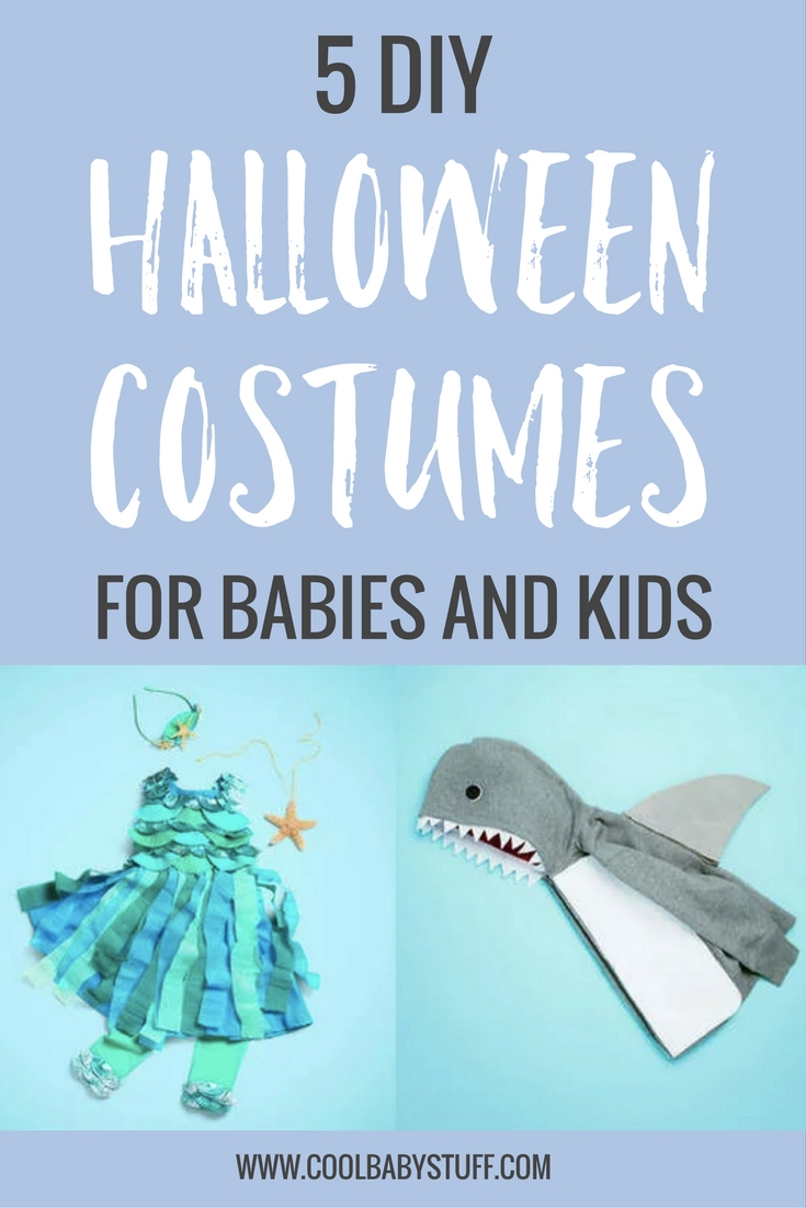 Homemade Halloween costumes for kids! You'll love these DIY Halloween costumes for kids that you can make with popular household items. They're simple, easy to assemble and very inexpensive.