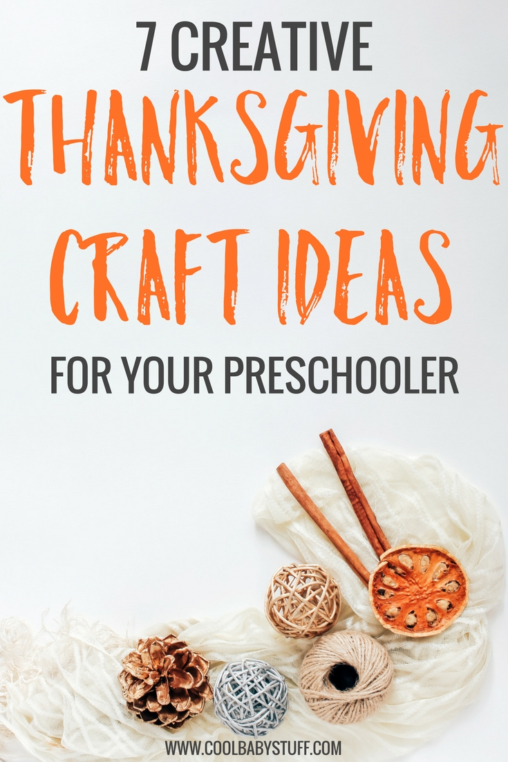 These Thanksgiving craft ideas are simple, require only a few materials and will give your preschooler an opportunity to enjoy their independence!