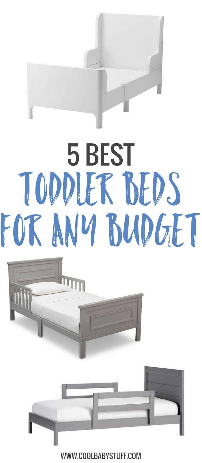 Here's a quick list of the 5 best toddler beds for any budget. With these toddler beds, both you and your kiddo are bound to enjoy this transition.