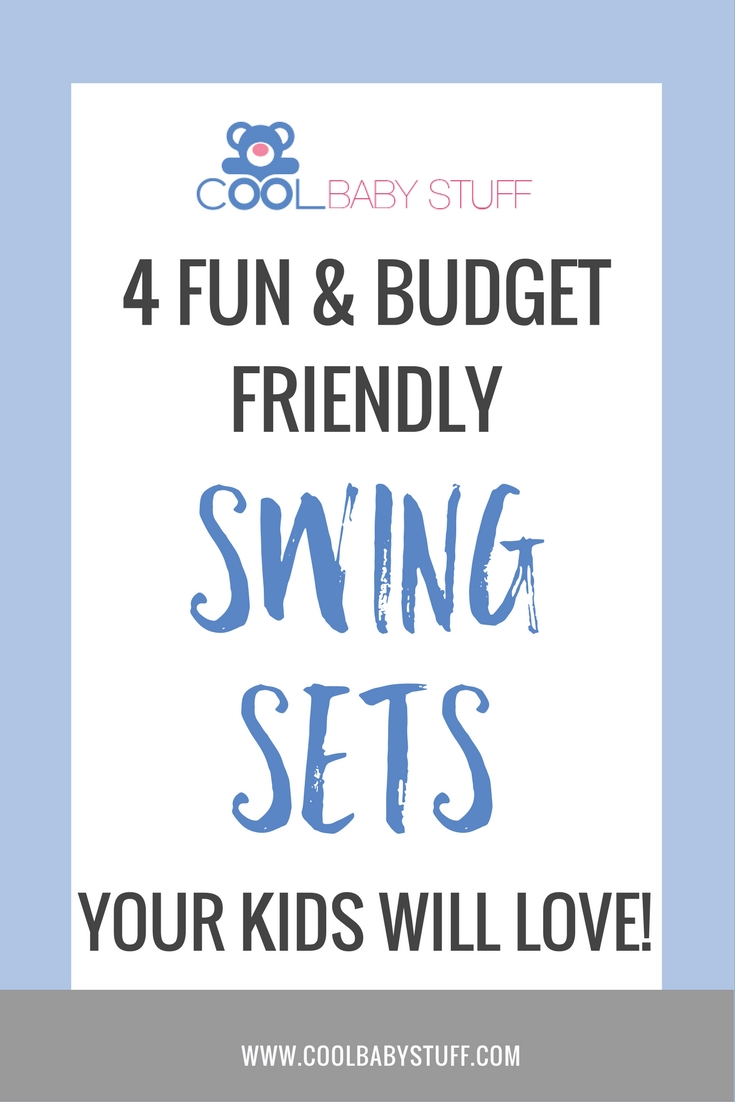 Here are a few of the best swing sets for kids that I am going to consider and the best part? Each one less than $200, so they won't break the bank!