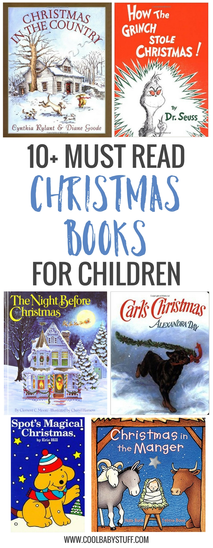 There are plenty of Christmas books for kids on the market, but here are several children's Christmas books we especially enjoyed.