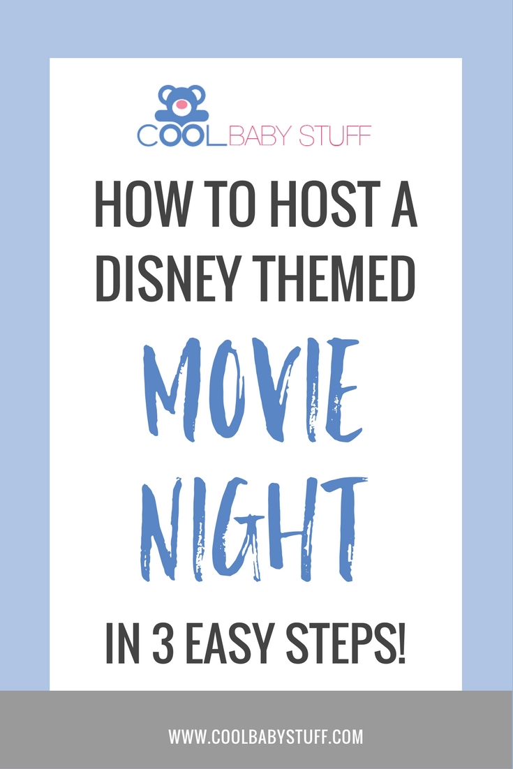 Who doesn't love a good Disney movie? Whether your kids love them or you still enjoy Disney movies, you can create your own Disney themed movie night!