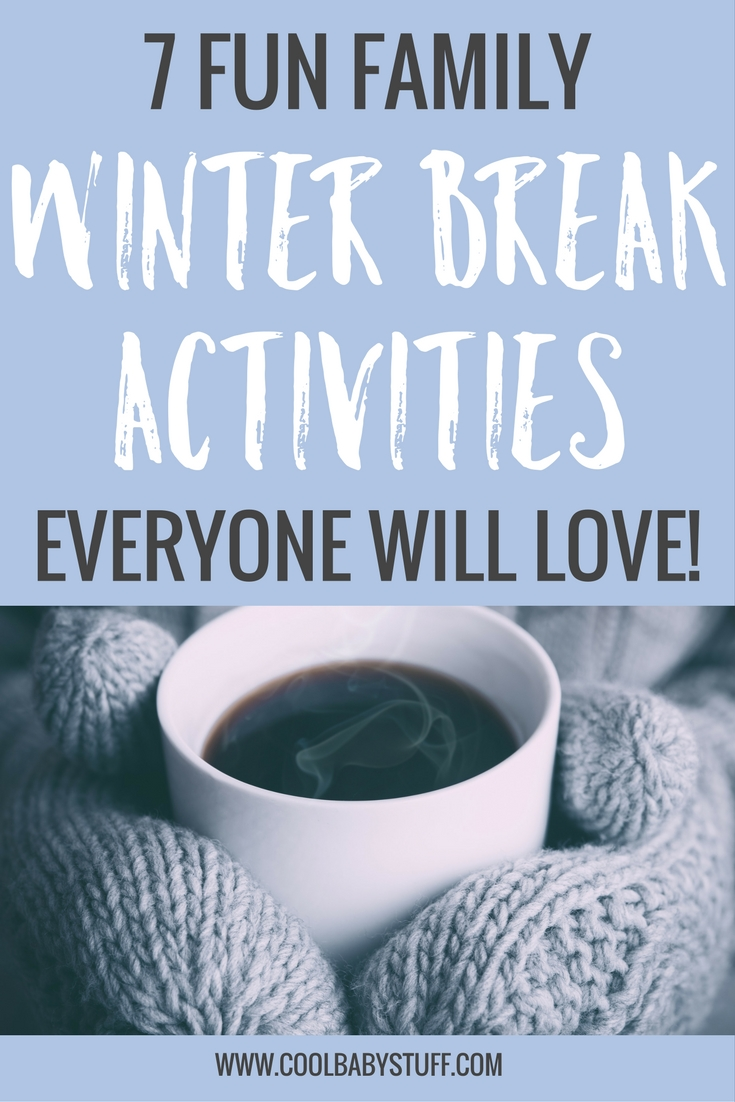 If you feel like you need some ideas to get the kids off the couch or outside, here are some winter break activities I have collected to help you out!