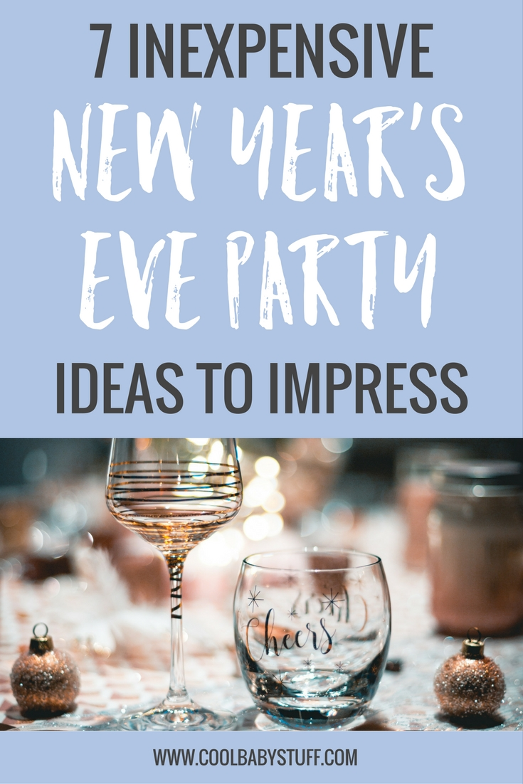 Ringing in the New Year doesn't have to be an expensive endeavor. Here are 7 inexpensive New Year's Eve party ideas to make your celebration a success.