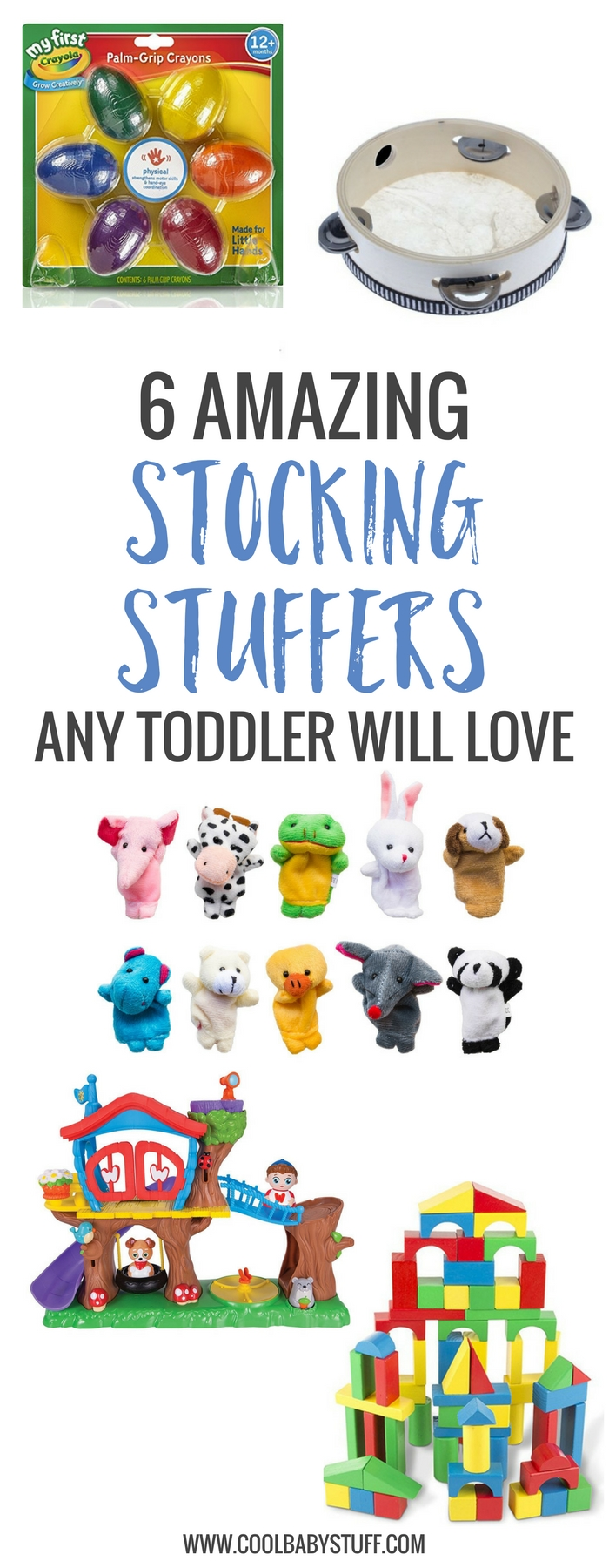 Toddlers have huge imaginations, and finding stocking stuffers for toddlers to match their imaginations isn't so daunting a task after all.