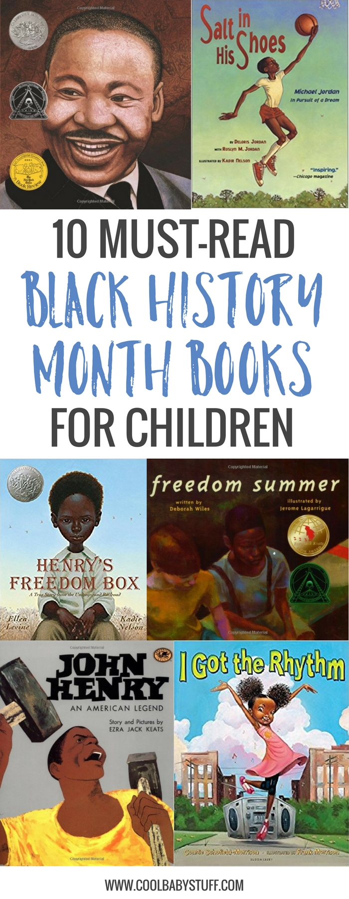 Here are a few of my favorite Black History Month children's books to help you begin teaching your children about African American History.