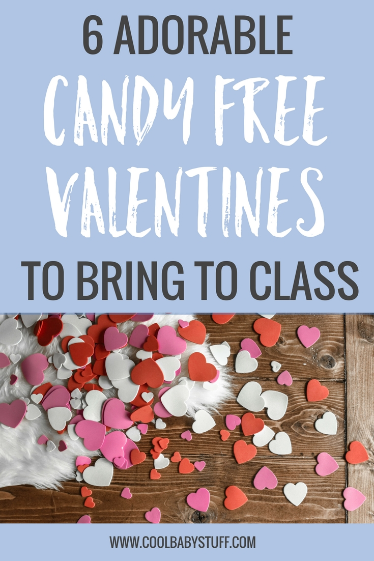 "With all the candy that gets passed out in the classes on Valentine's Day, I wanted to make sure our valentine was candy free. If an easy, ""candy-less"" Valentine's Day card is right up your alley, check out these candy free valentines!"