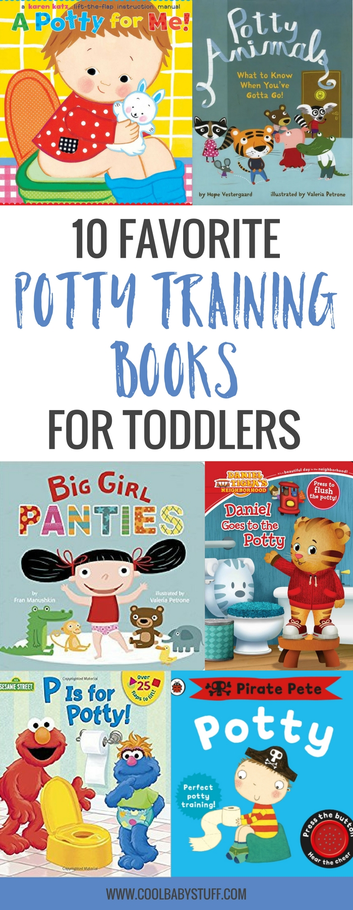 Here are our favorite potty training books to bring you smiles and encouragement even as you clean the sheets for the third time in the week or step in warm poo on the floor. May your sense of humor be with you.