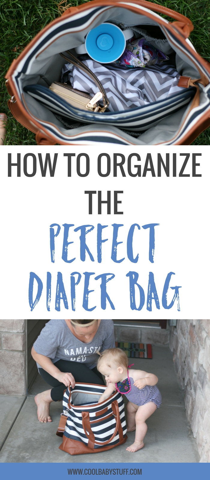 If you're getting ready for baby's arrival and trying to figure out the puzzle of fitting everything into your diaper bag, you might be getting overwhelmed. Don't be scared! Here are 5 simple steps for organizing the perfect diaper bag.
